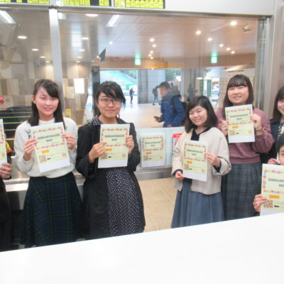 JR信濃町駅の英語マップで、地域の国際おもてなし力の向上へ