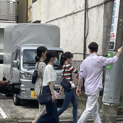 日経ニュース プラス9の取材